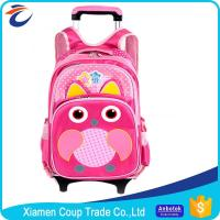 Best New Design Wholesale Good Materials 600D Polyester Kids Trolley Bag Sizes For School Students wholesale