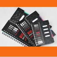 Best A4 / A5 / A6 Custom Notebook with elastic band & ribbon wholesale