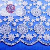 China Curtain Fabric Lace Online on sale