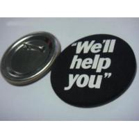 Best Cloth cover tin button Badge wholesale