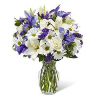 China Warm Thoughts Lily Bouquet on sale