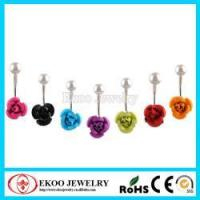 Best Hot Selling Rose Blossom Navel Belly Ring wholesale