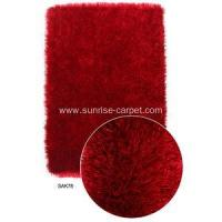 Best 1200D silk shaggy rug wholesale