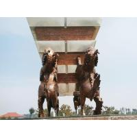 Buy cheap Urban Landscape Animal Bronze Sculpture from wholesalers