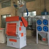 Buy cheap Tumble Rubber Belt Small Shot Blasting Machine for Small Foundry Parts from wholesalers
