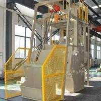 Buy cheap Tumble Rubber Type Surface Shot Blast Cleaning Machine /Crawler Type Wheel abrator from wholesalers