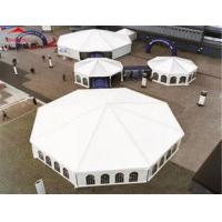Buy cheap Rainproof Clear Roof Wedding Marquee Tent With Dance Floor And Liner from wholesalers