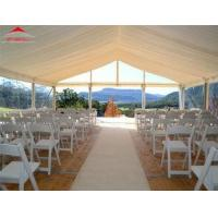 Buy cheap 500 People Luxury Clear Roof Marquee With Clear Window For Party from wholesalers
