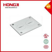 China Top Quality One Gang Flush Rectangular 20Amp Electrical Floor Outlet Box on sale