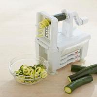 China 3-blade vegetable slicer spiral slicer on sale