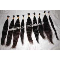 China Remy Single Drawn Hair on sale