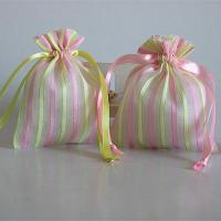 Best high quality drawstring organza cosmetic bag wholesale