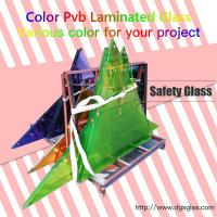 Best China 6.38mm 8.38mm Clear or Colored tempered Laminated Glass price for Building wholesale