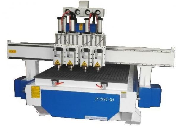 Cheap Pneumatic multi- heads CNC router JY1325 for sale