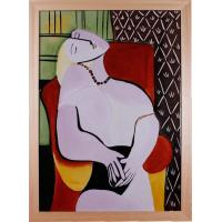 EHMAC Porcelain Wall Art Reproduction of Picasso Young Mothe