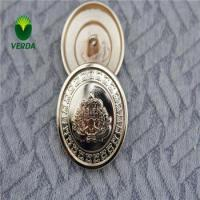 China Crown SKULL Metal Coat button / Metal Button for Coat / Metal Blazer Button on sale
