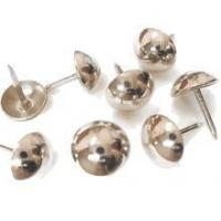Best Bright Brushed Nickel Upholstery Nails [100 PCS] wholesale
