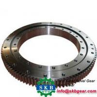 China Sinotruk Heavy Duty Gears Forged Steel Rings Black Bright Polished Surface on sale