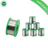 Best YunFang Tin Rohs Lead Free Solder Wire Sn99.3Cu0.7 with Rosin Core for Electrical Soldering wholesale