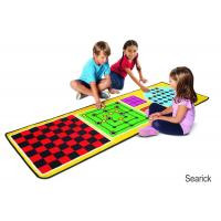 Best Melissa & Doug 4-in-1 Game Rug (78.5 x 26.5 inches) - 4 Board Games, 36 Game Pieces wholesale