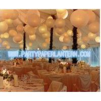 Best Different Shaped Decorating Wedding Paper Lanterns With Soft Colors , Size Customized wholesale