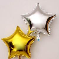 Best Customized Star Foil Balloon Sliver Aluminium For Party Decoration wholesale