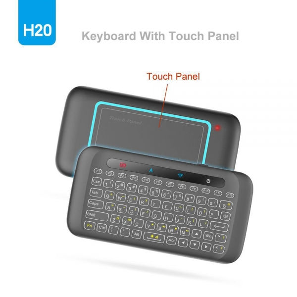 China mini wireless touch pad keyboard