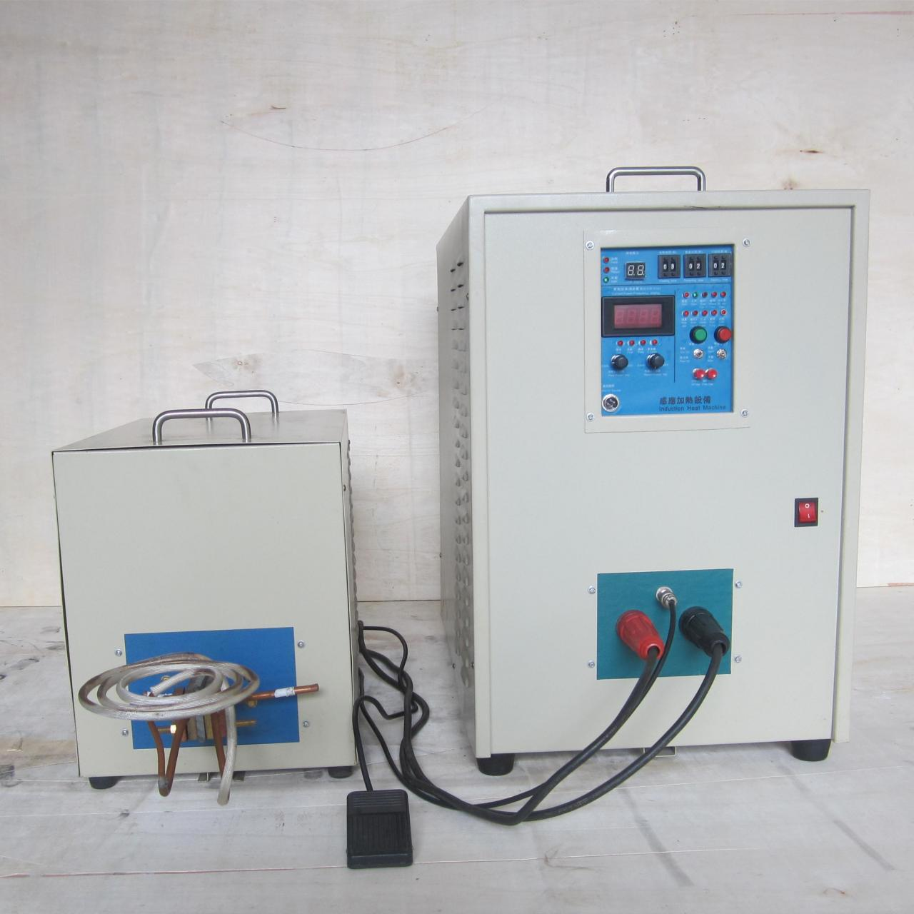 China 80KW/30-80KHz high frequency induction heating hardening machine on sale