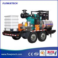 Buy cheap Trailer Mounted Hydro Jetting Machine from wholesalers