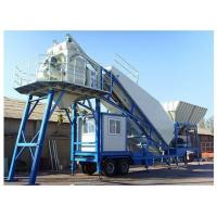 Buy cheap ZMC750T Trailer Concrete Batching Plant from wholesalers