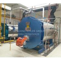 China 10 Tph Gas Oil Fired Industrial Steam Boiler Automatic Running For Rice Mill Paper Mill on sale