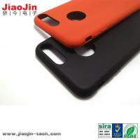 Best Mass Production Smartphone Accessories Liquid Silicone Case with Coating wholesale