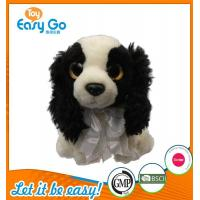 Best Customized OEM promotion gift plush dog with tie wholesale