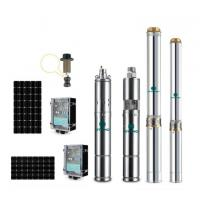 China 3 inch high efficiency solar borewell pumps deep well submersible pump on sale