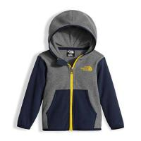 China The North Face Infant Glacier Full Zip Hoodie - TNF Medium Grey Heather/Cosmic Blue - 12M on sale
