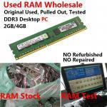 Buy cheap Used RAM Memory Used DDR3 RAM Laptop from wholesalers