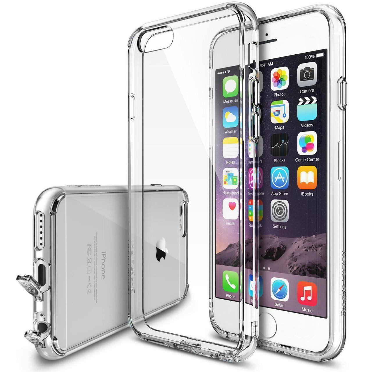 Buy cheap Transparent PC+ TPU bumper case for iPhone 6 from wholesalers