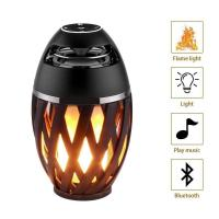 Best Led Flame Lamp Bluetooth Speaker,Atmosphere Light Outdoor Speaker wholesale