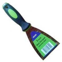 Best HW03024 stainless steel blade Putty knife with TPR handle wholesale