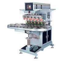 Buy cheap automatic ink cup conveyor 6-color pad printer from wholesalers