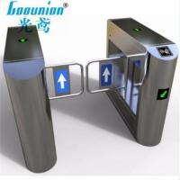 Buy cheap 304 Stainless Steel Arc-Type Swing Barrier Turnstile Gate from wholesalers