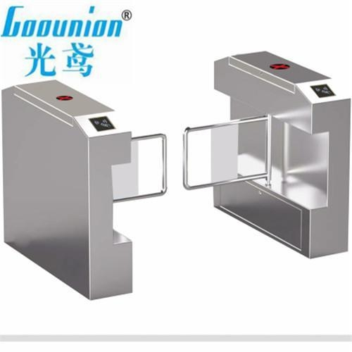 Cheap Pedestrian Swing Barrier Gate with Double-Direction Control High Speed Pass for sale