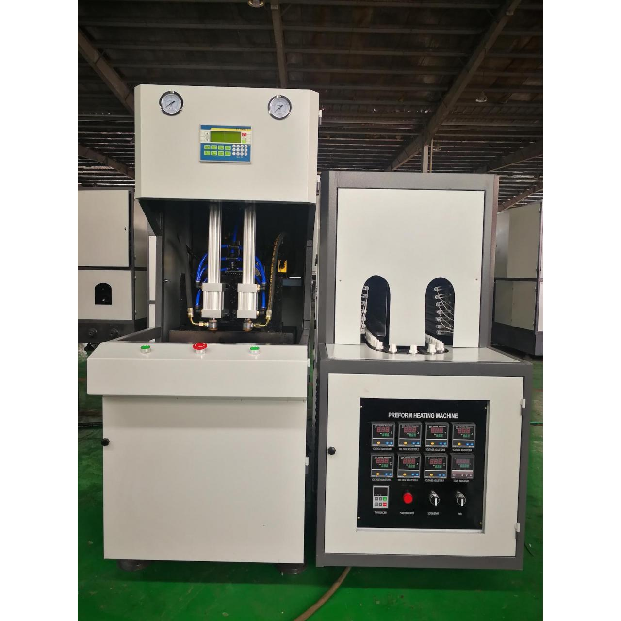 Buy cheap Semi-auto Two Cavities Small Bottle Blow Moulding Machine from wholesalers