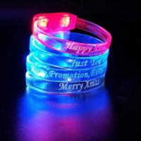Best Factory Wholesale Activated Light up led wristband wholesale