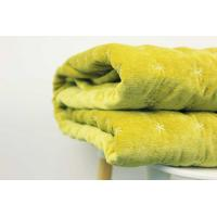 Buy cheap 2018 NEW CASHMERE MIXED SNOWFLAKE STITCHING THROW BLANKET IN WARM OLIVE from wholesalers
