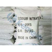 Buy cheap Nitrate Sodium Nitrate from wholesalers