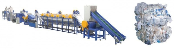 Cheap PP PE FILM WASHING & RECYCLING LINE for sale