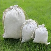 Buy cheap Hot Selling Promotional Organic Cotton Drawstring Bag from wholesalers