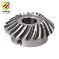 Buy cheap Spiral Bevel Gears CNC Parts from wholesalers