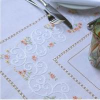 Best Calendule Hand Embroidered Tablecloths wholesale